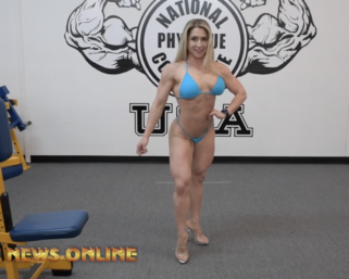 Road To The IFBB Professional League Pittsburgh Pro 2021: Devyn Cambre Posing Routine