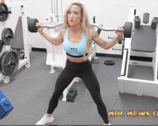 Road To The IFBB Pittsburgh Pro 2021 – Jessica Koston Workout