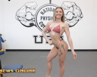 Road To The IFBB Pro League Pittsburgh Pro: Paige Reetz Posing Practice
