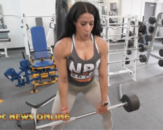 The Road to the IFBB Pittsburgh Pro 2021: Giselle Zapata  Workout