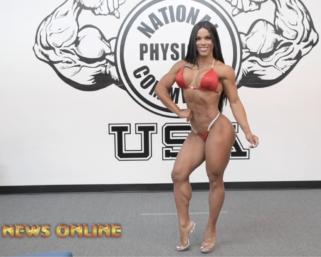 Road To The IFBB Pro League Pittsburgh Pro 2021: Yarishna Ayala Posing Practice