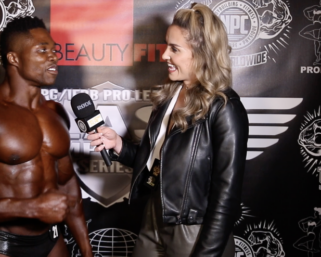 2021 NPC BORDER KLASH:   Adely Annorat  Classic Physique Overall Interviewed by Sarah Lyon