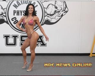 Road to The IFBB Pittsburgh Pro 2021: Ashley Kaltwasser Posing