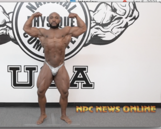 Road To The NPC Pittsburgh 2021: Matt Griggs Posing Video