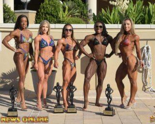 2021 NPC Junior USA Women's Champions Photo Shoot Day 1 – Figure, Women's Bodybuilding, Women's Physique & Wellness