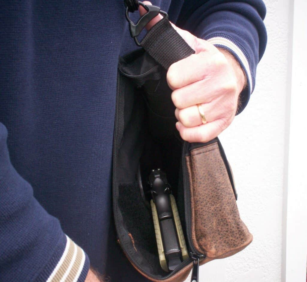 CrossBreed Holsters Concealed Carry Shoulder Bag