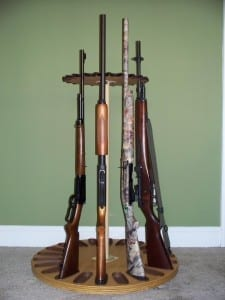 Campbell Gun Racks Magnetic Rotary Long Gun Rack