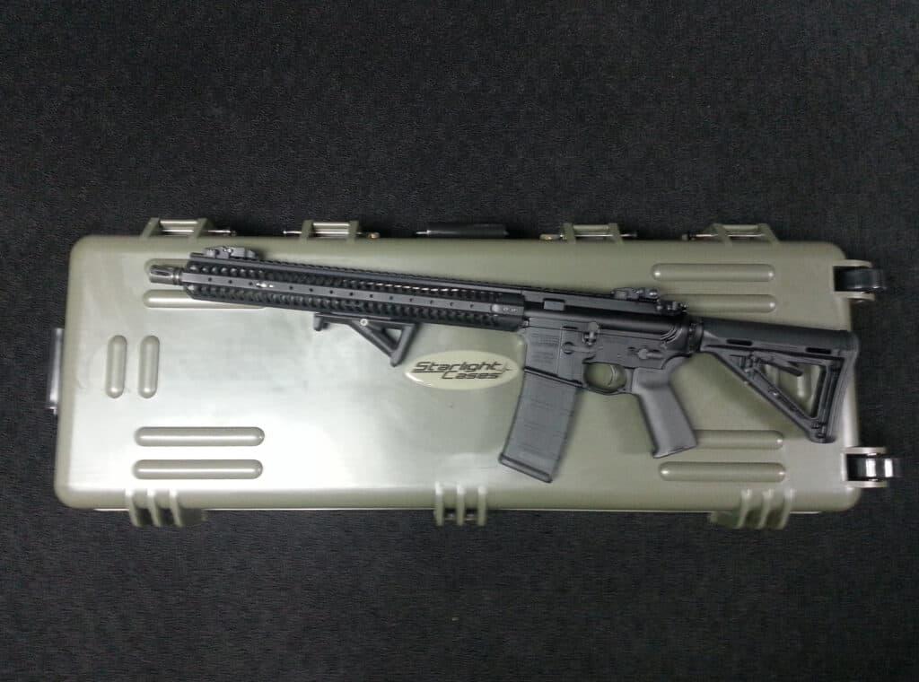 Starlight Rifle Case with Kavod KVD-15