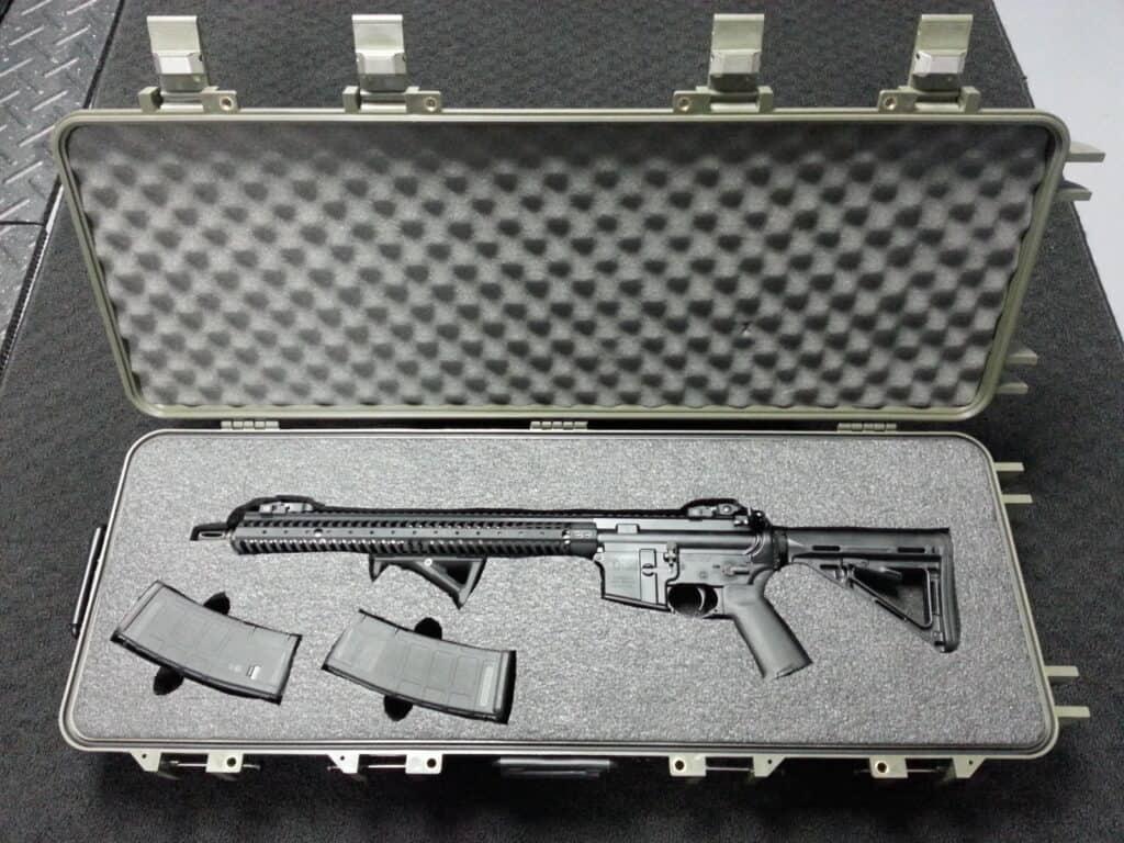 Starlight Rifle Case with Custom Foam Insert