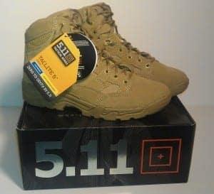"""5.11 Tactical Taclite 6"""" Coyote Boots"""