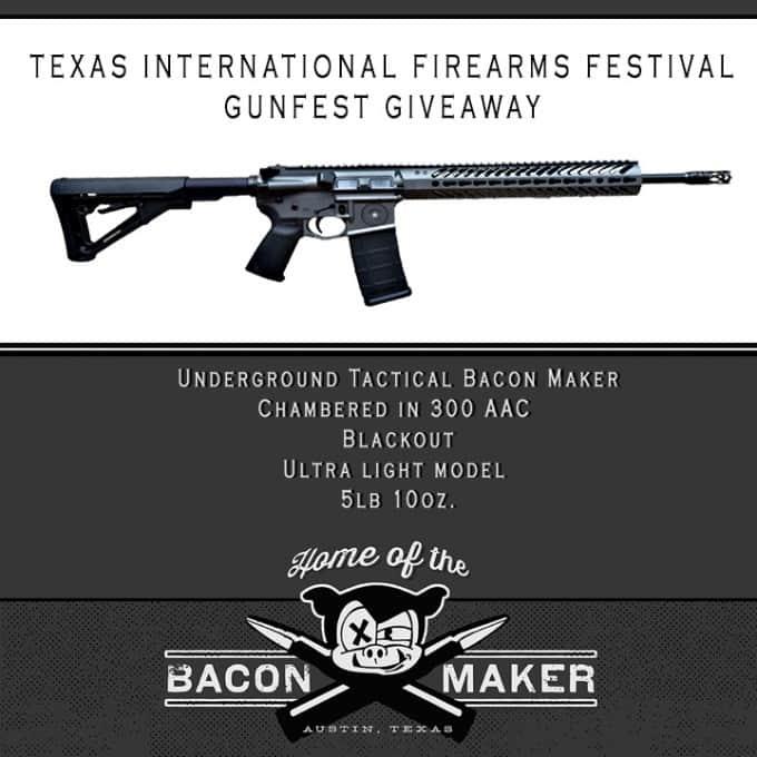 Texas International Firearms Festival Gunfest Giveaway