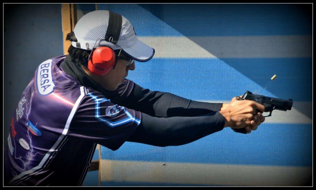 Bersa International Shooting Champion - Gastón Quindi Vallerga