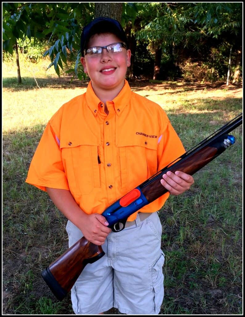 Ryan Fitch, Youth Target Shooter