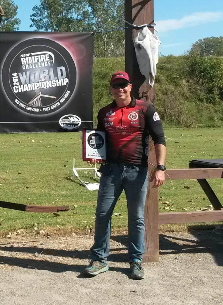 Italian Gun Grease Shooter John Nagel NSSF Rimfire Challenge