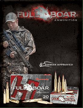 Hornady Full Boar Ammunition