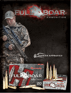 Hornady Full Boar Ammunition