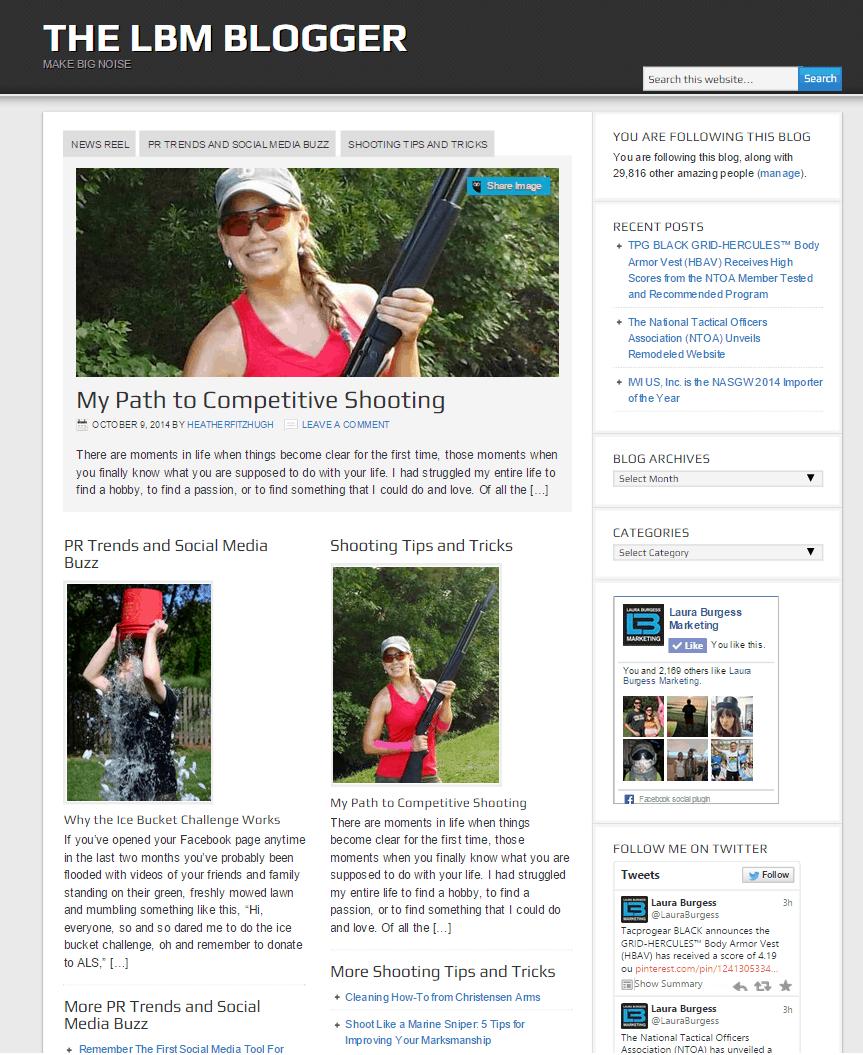 Laura Burgess Marketing Blog