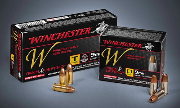 Winchester W Train and Defend Ammunition