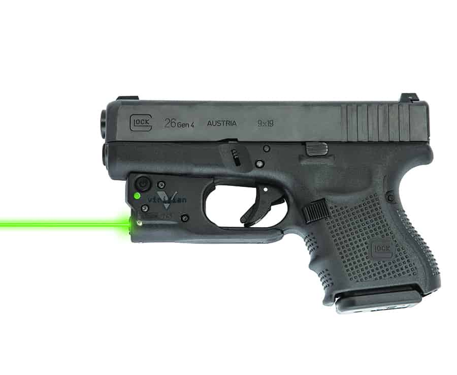 Viridian Green Laser on Glock 26