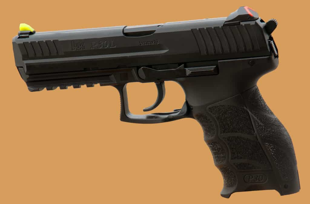 Advantage Tactical Sight on HK P30L