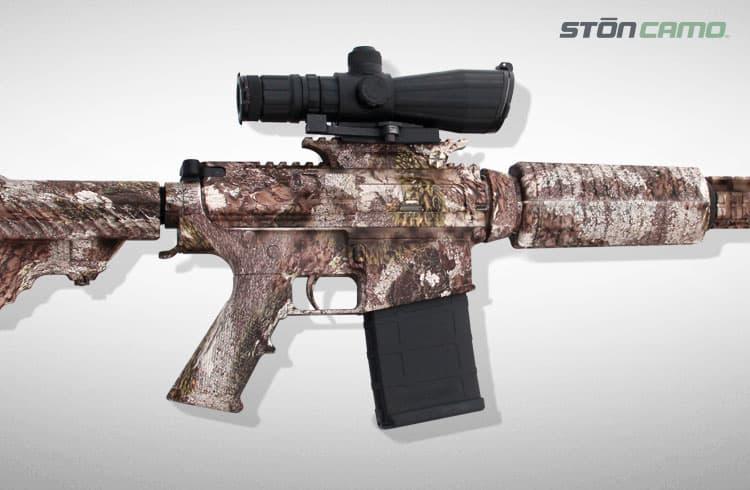 Ston Camo on AR Rifle