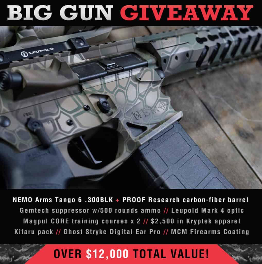 Big Gun Giveaway