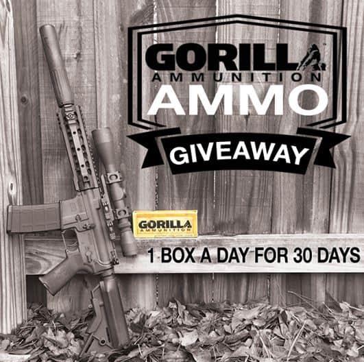 Gorilla Ammunition Giveaway