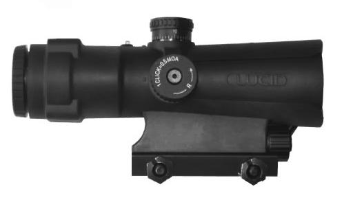 LUCID P7 4X Weapons Optic