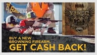Browning Cash Back for NRA Sponsored Program Members