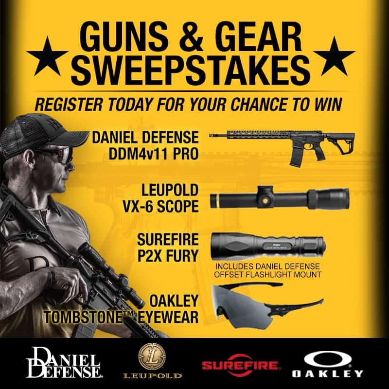Daniel Defense Guns and Gear Sweepstakes
