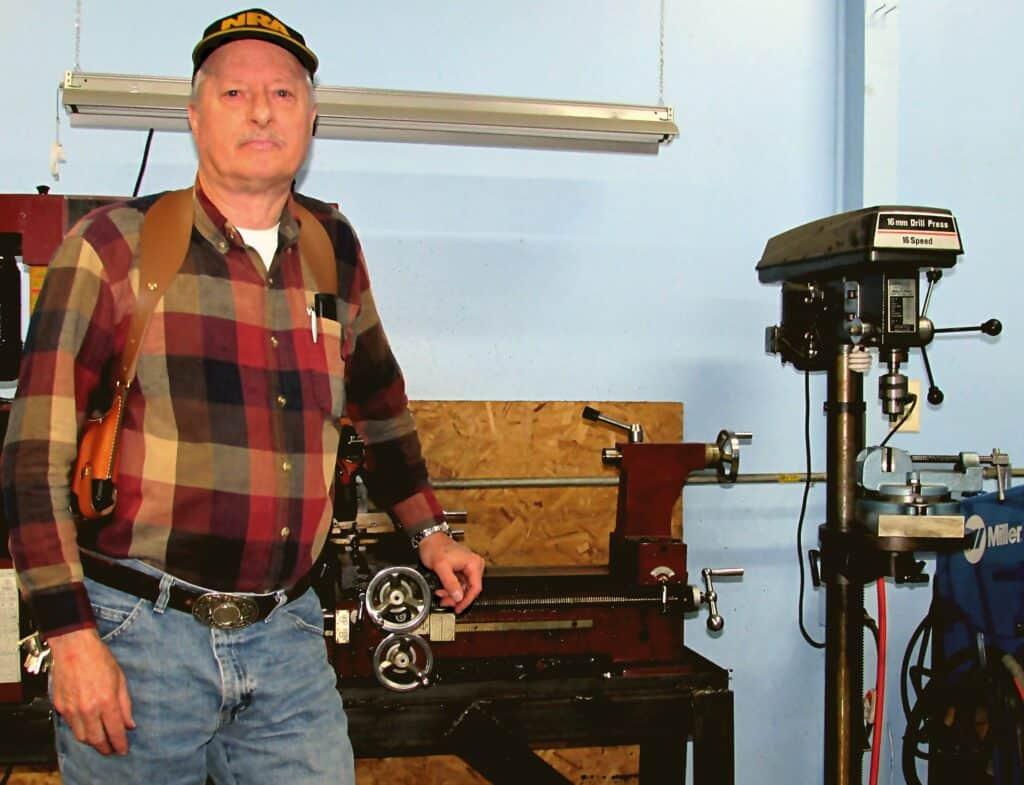Gary Smith at Precision Guncrafters, his Professional Gunsmithing Shop