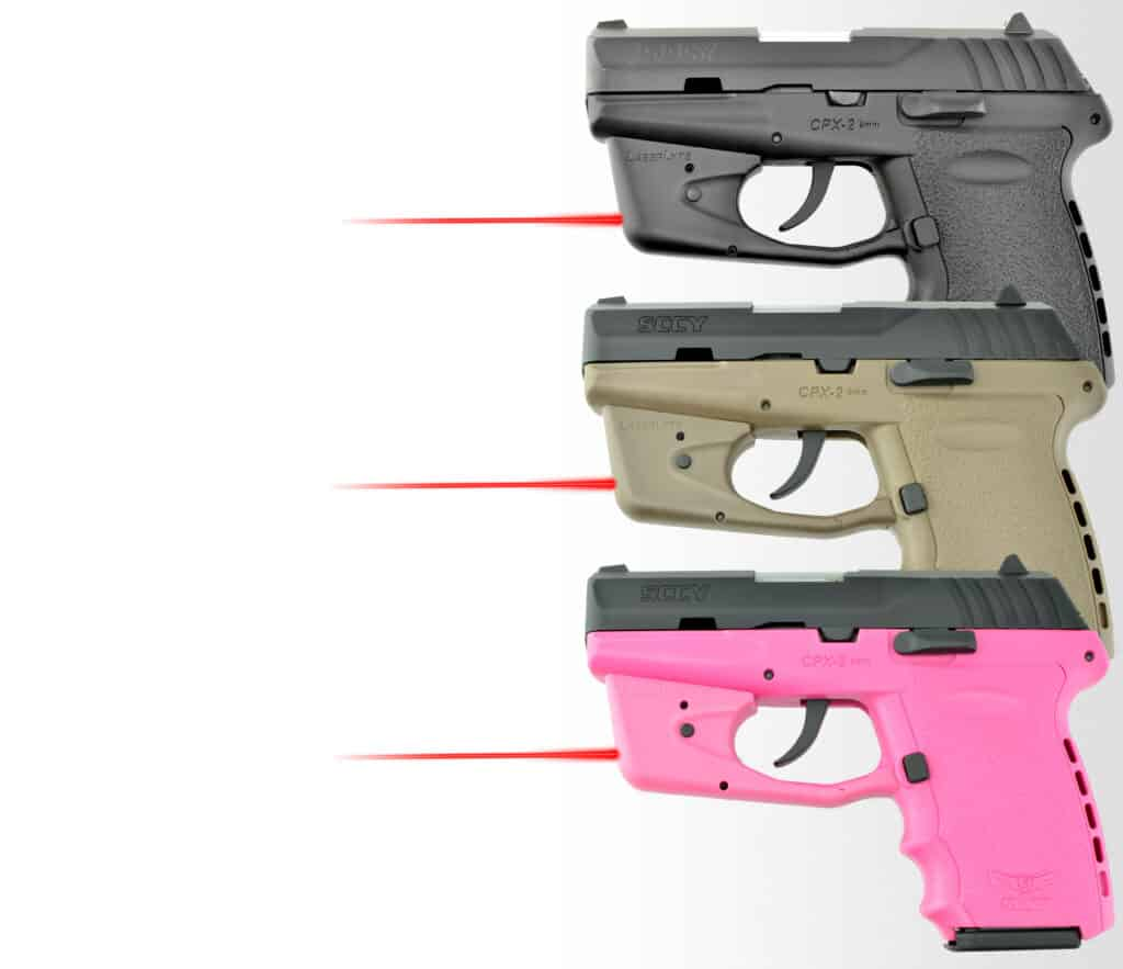 LaserLyte Tri-Color Laser Housing for SCCY Pistols