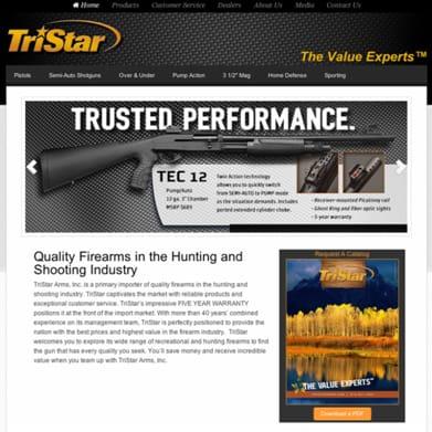 TriStar Arms Website