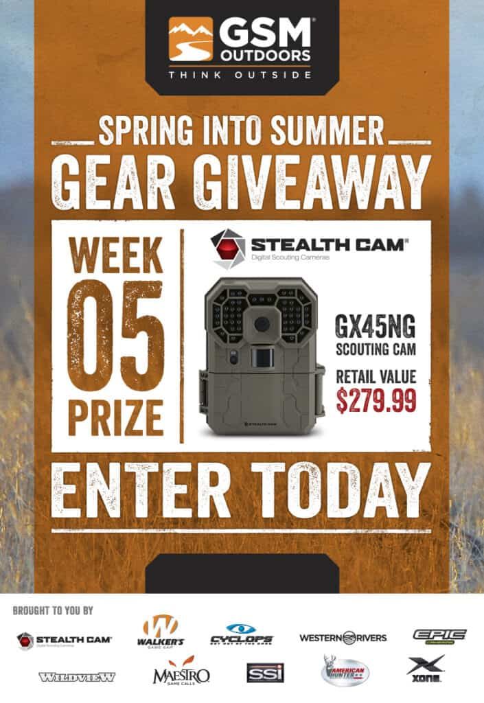 GSM Spring Into Summer Gear Giveaway Week 5