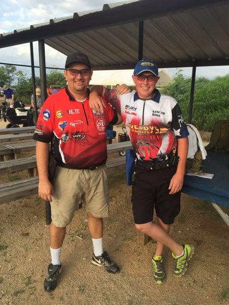 STI Shooters Eddie Garcia and Kincaid Ross