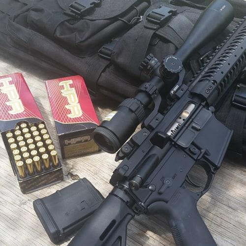 Kavod Custom KVD-15 with Nikon P-223 and HPR Ammo