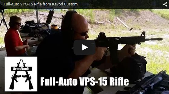 Kavod Custom Range Event - Full-Auto VPS-15 Rifle