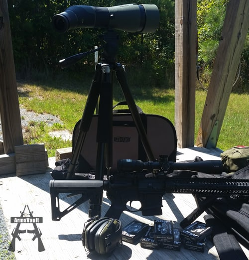 Meopta MeoPro 80 HD Spotting Scope at Range