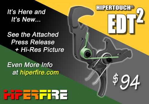HIPERFIRE EDT2 AR Fire-Control Group