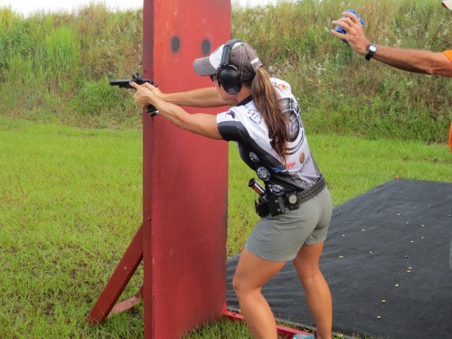 Jessie Duff at IPSC Nationals