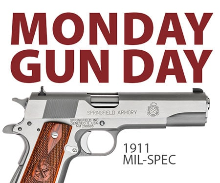 Springfield 1911 Mil-Spec Stainless Pistol Giveaway
