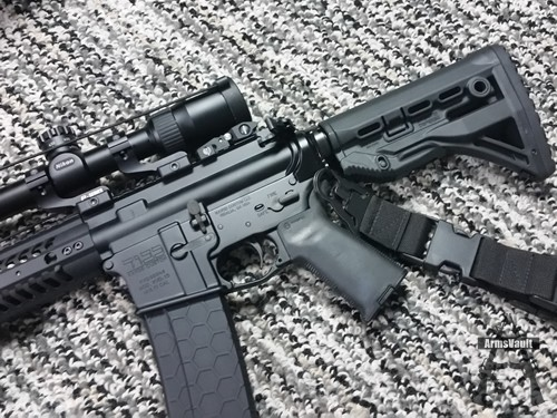 Kavod Custom KVD-15 with FAB Defense GL-SHOCK Shock Absorbing Buttstock