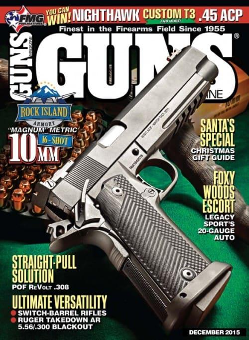 GUNS Magazine December 2015
