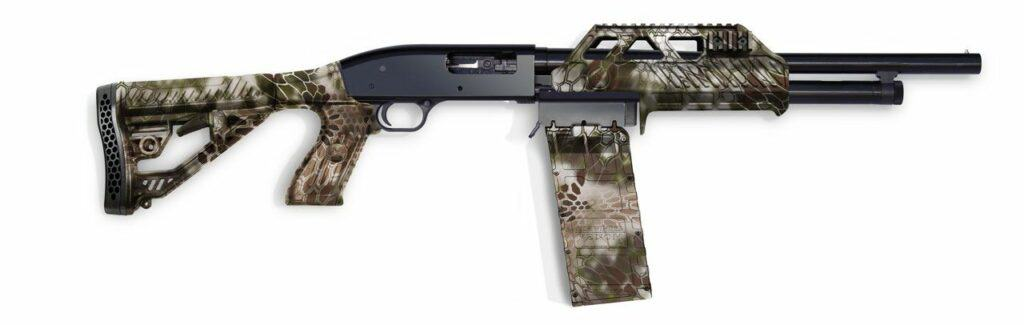 Sidewinder Venom Kit with 10-Round Box Mag and Wraptor Forend in Kryptek Camo