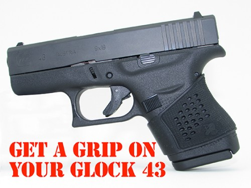 Pachmayr Tactical Grip Glove for the Glock 43