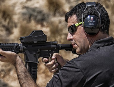 Mikey Hartman and MH1 Red Dot Reflex Sight