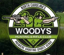 Woodys Hunting and Rifle Club Logo