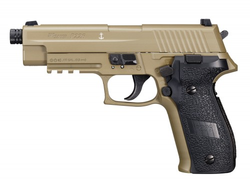 SIG SAUER P226 Advanced Sport Pellet Air Pistol - FDE