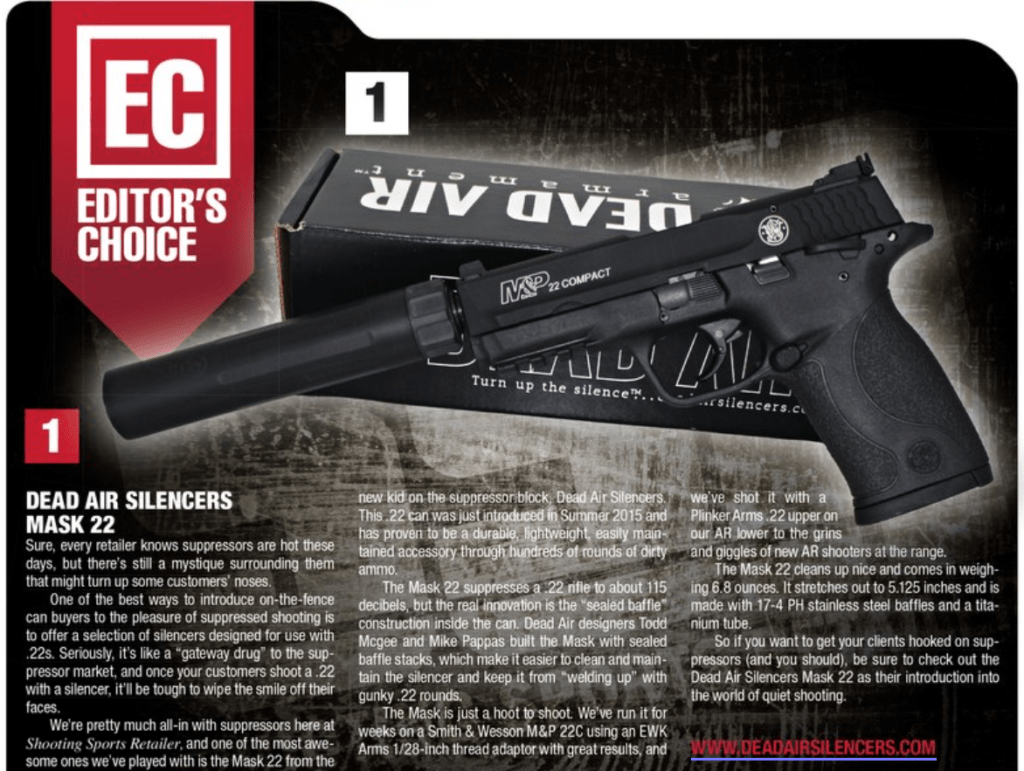 Shooting Sports Retailer Editors Choice Excerpt