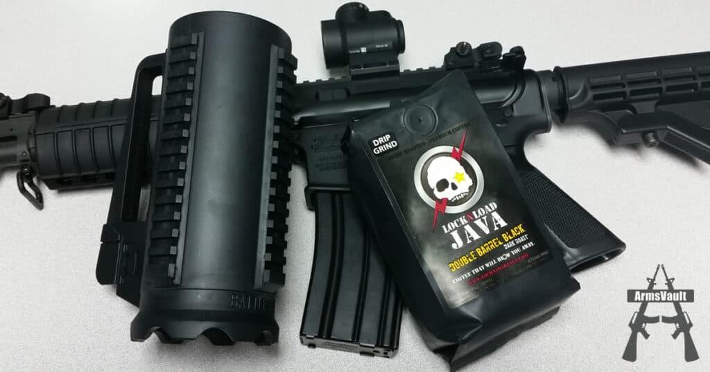 Lock-n-Load Java with Battle Mug